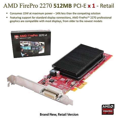 Amazon.com: AMD FirePro 2270 512 MB tarjeta gráfica ...
