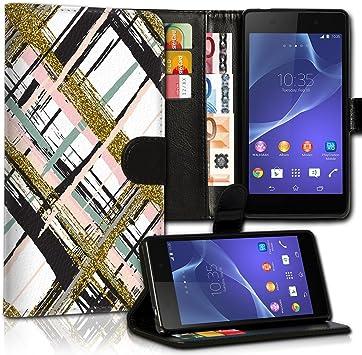 wicostar Wallet Funda Case Funda Carcasa diseño Funda para Samsung Galaxy S3 Mini VE i8200 N – Diseño Flip mvd213: Amazon.es: Electrónica