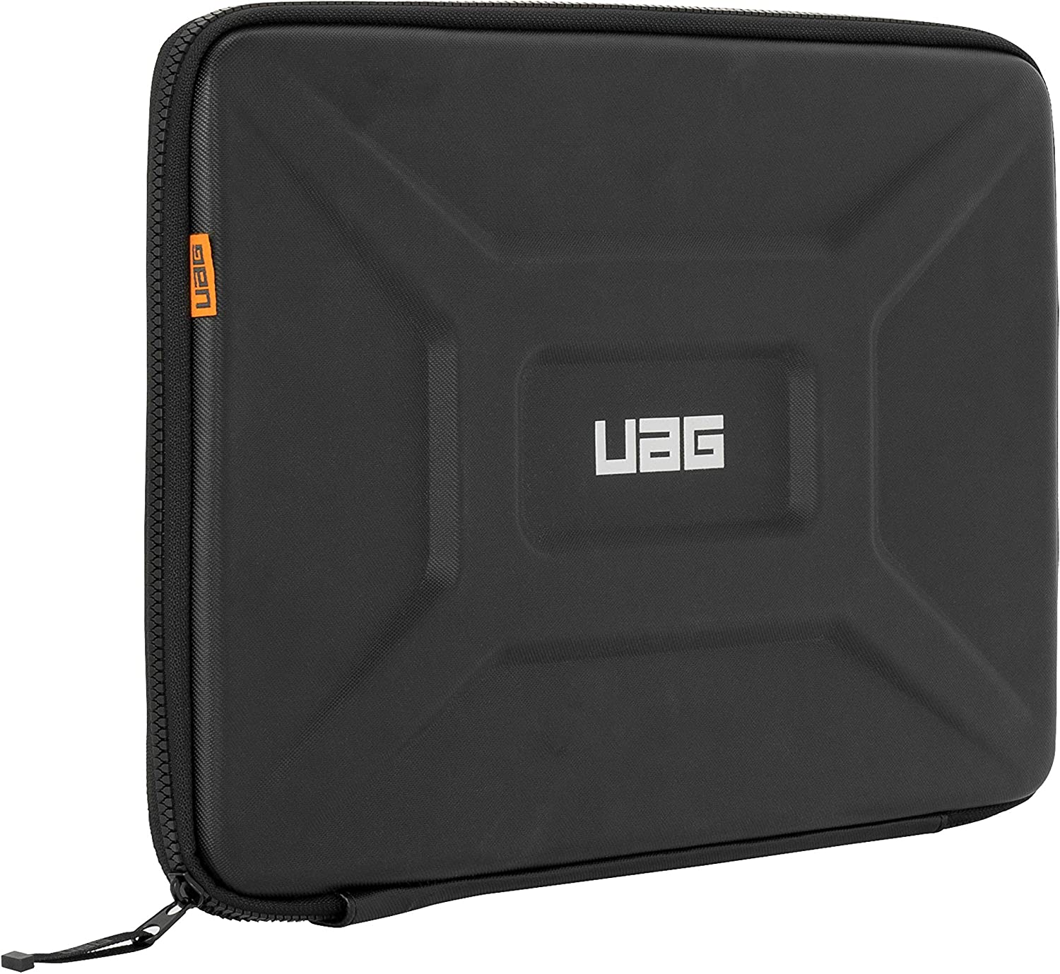 "URBAN ARMOR GEAR UAG Large Sleeve for 15"" Devices [Black] Rugged Tactile Grip Weatherproof Protective Slim Secure Laptop/Tablet Sleeve"