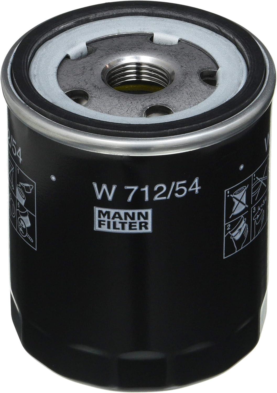 Original Mann Filter W 712 54 Schmierölwechselfilter Für Pkw Auto