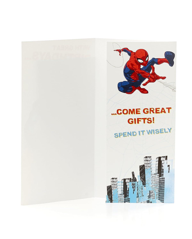 Marvel Spiderman Money Wallet Gift Card Holder