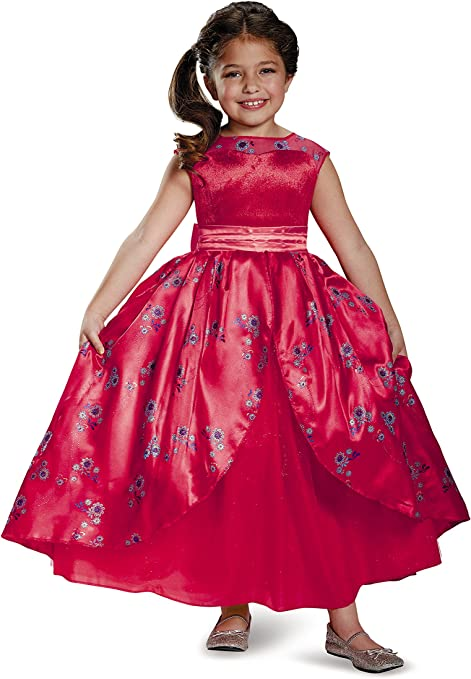 Disney Elena of Avalor Deluxe Ball Gown Girls' Costume