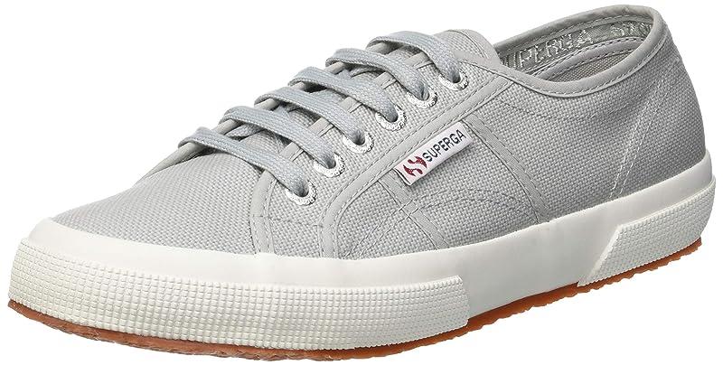 Superga 2750 Cotu Classic Sneakers Low-Top Unisex Damen Herren Hellgrau (Light Grey)