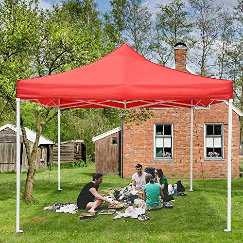 I Instahibit 10×10 Pop Up Canopy Tent Outdoor Heavy Duty Tent