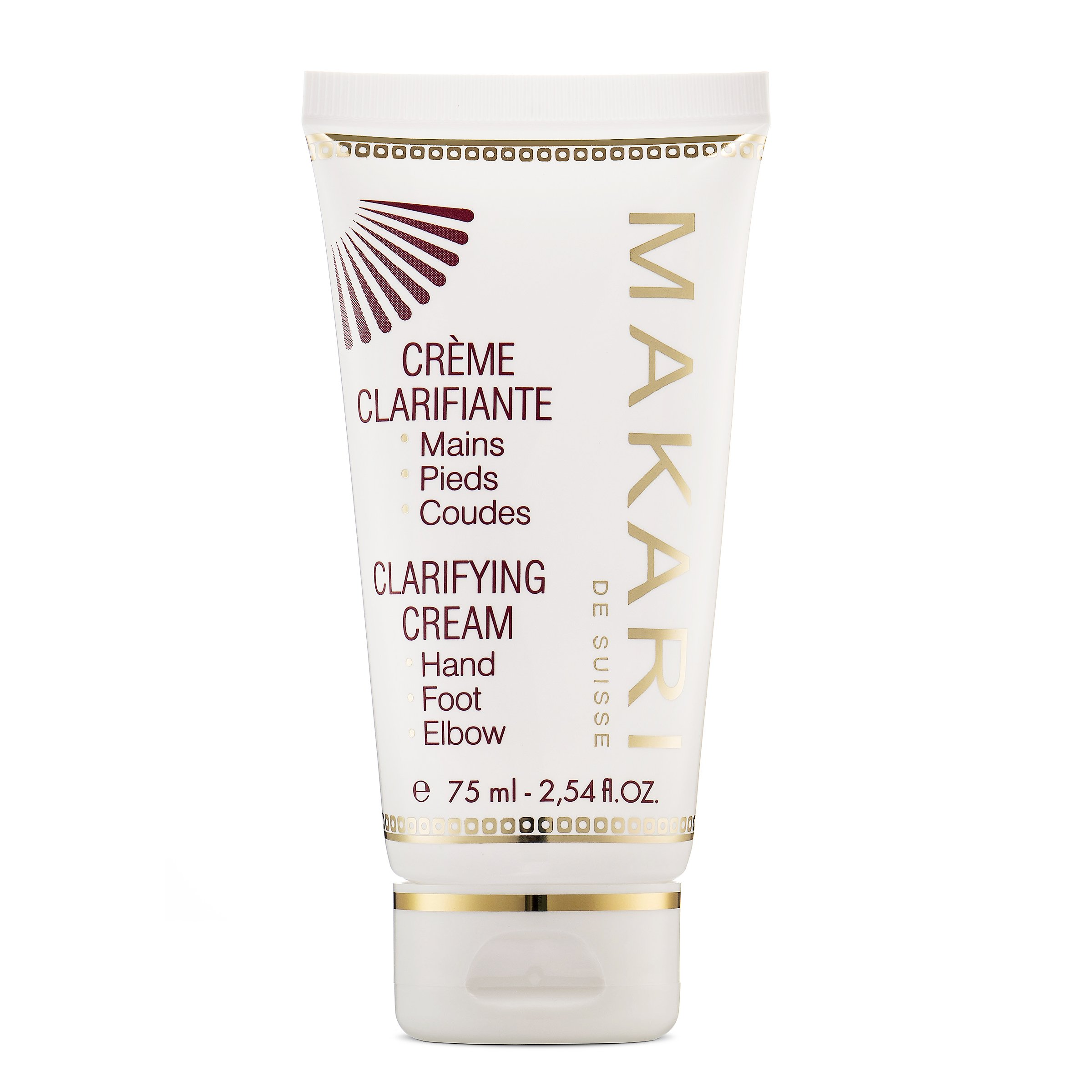 Makari Classic Skin Clarifying Cream 2.54 fl.oz – Whitening, Toning & Moisturizing Body Balm – Targeted Lightening for Dryness & Discoloration on Hands, Feet, Elbows & Knees