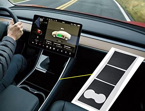 Tesla model 3 console
