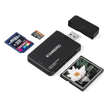 KiWiBiRD USB 3.0 (3.1 Gen 1) Tarjeta lectora de alta-velocidad 9-