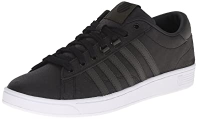K-Swiss Men's Hoke C CMF Casual Shoe, Black/Forest Night/White