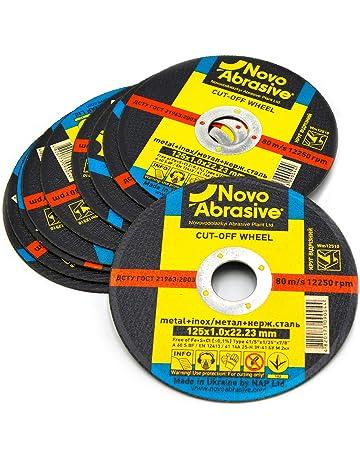 NOVOABRASIVE Discos De Corte 125 x 1,0 x 22,2 mm. Juego