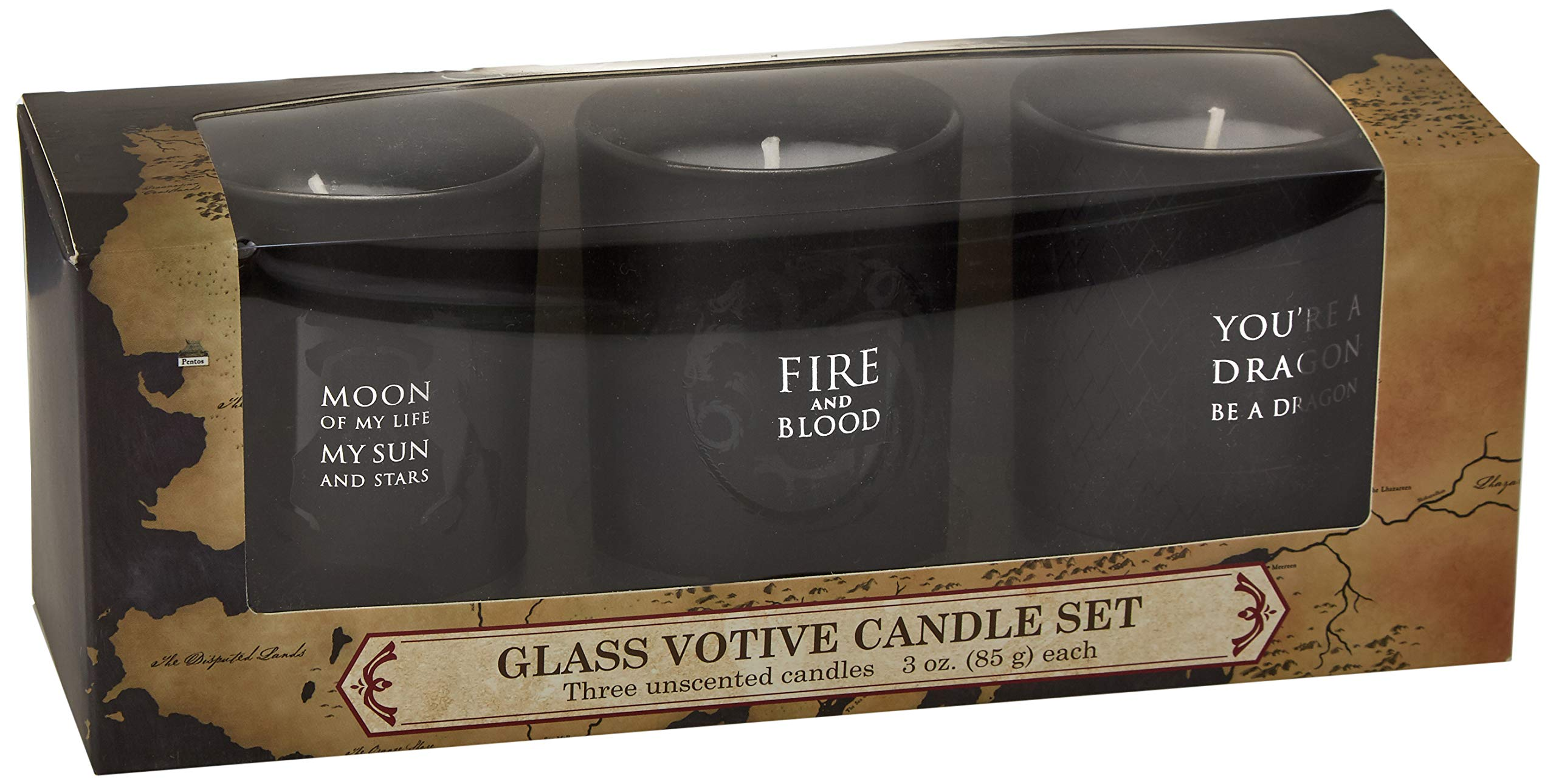 Game of Thrones: Glass Votive Candle Pack: Amazon.es: Insight ...