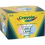 Crayola 144 Coloured Sanigene Dustless Chalk