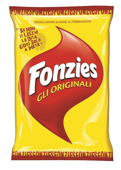 43 opinioni per Fonzies- Croccantini di Mais al Formaggio, Cotti al Forno- 100 g