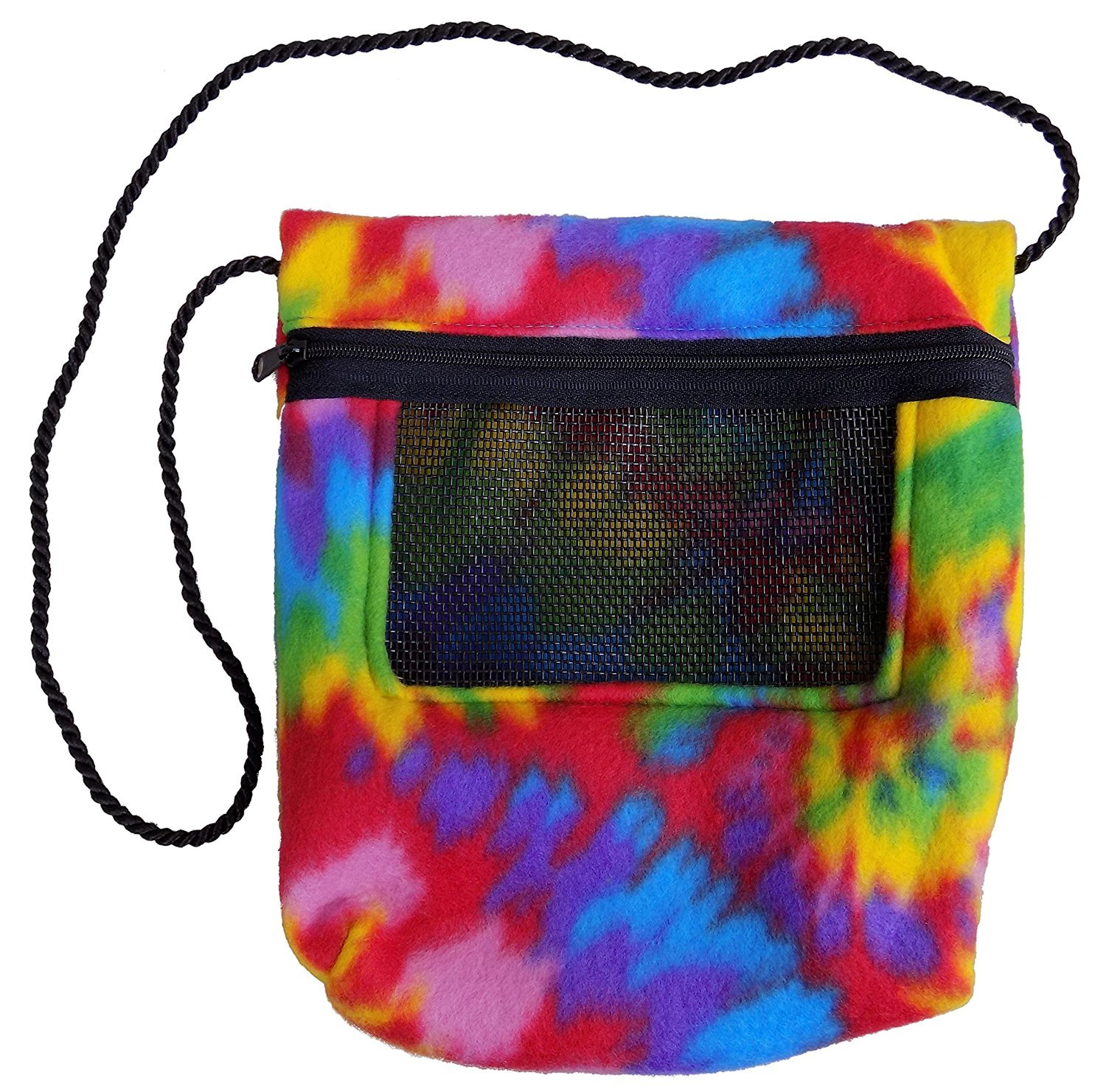 Bonding Carry Pouch for Sugar Gliders and other small pets (Tie Dye) SunCoast Sugar Gliders