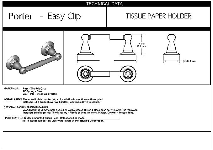 Delta Faucet Ptr50 Bn Porter Toilet Paper Holder Satin Nickel Amazon Com