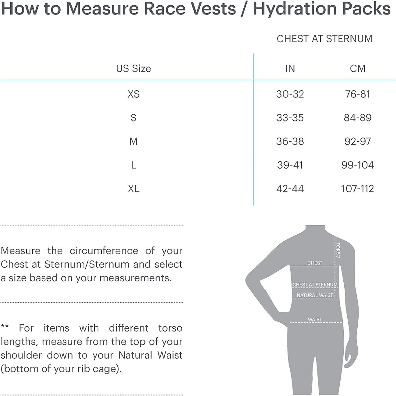 Womens Nathan Vaporhowe Hydration Pack Running Vest with 1.8L Hydration Bladder Reservoir