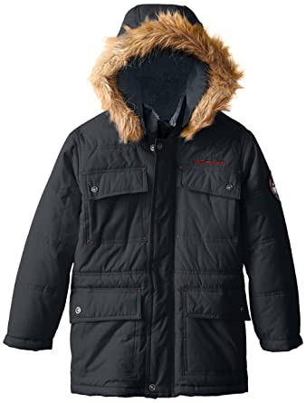 7a488c54506 Amazon.com: Big Chill Boys' Classic Expedition Parka Jacket: Clothing