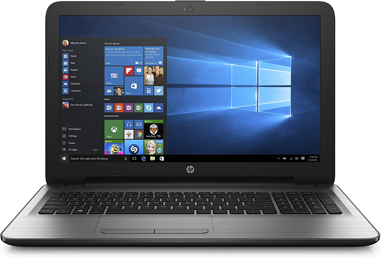 HP 15-ba040nr 15.6-Inch Notebook (AMD A10, 8 GB RAM, 1 TB HDD)
