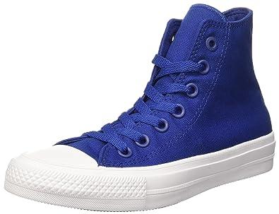 c4581d1fed5cd Converse CTAS II Hi Baskets pour Homme - Bleu - Blau(Blue)