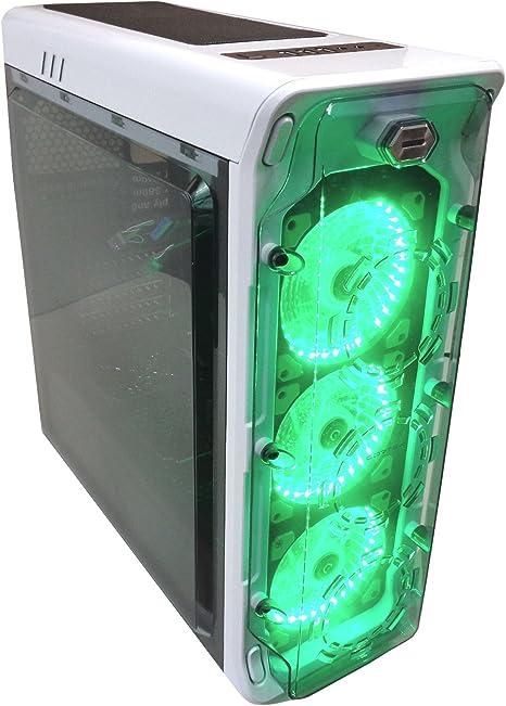 Cortek Ghost Torre Blanco Carcasa de Ordenador - Caja de Ordenador ...