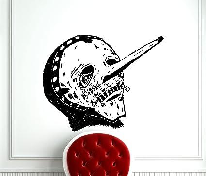 Slipknot Wall Decal Rock Music Studio Chris Fehn Alternative Metal Vinyl Sticker Art Teen Kids