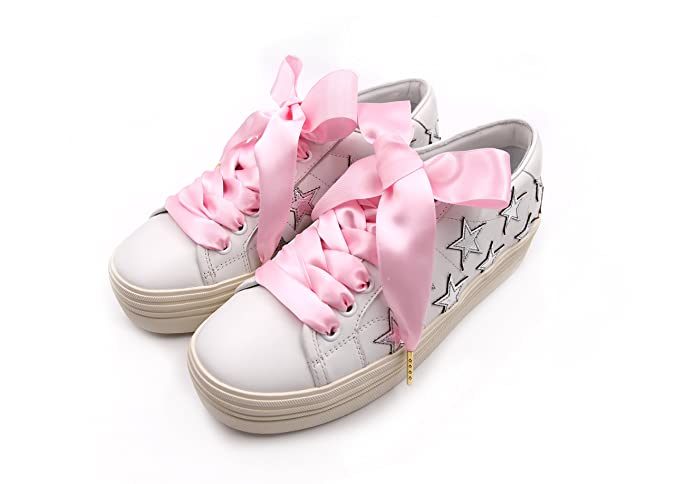 86d7c98376de ZORESS Women Fashion Satin Ribbon Shoelaces