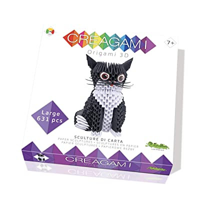 CreativaMente Creagami Cat, Multicoloured, 733: Toys & Games