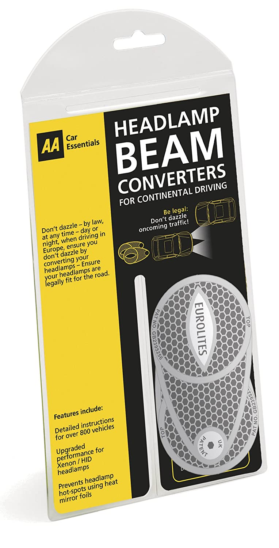 AA Car Essentials Scheinwerfer Beam-Wandler für das Fahren außerhalb UK