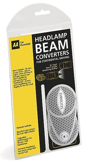 Aa Headlamp Beam Converters Deflectors Grey Amazon Co Uk Car