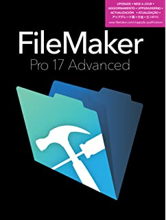 Amazon. Com: filemaker pro 17 advanced download mac/win [online.