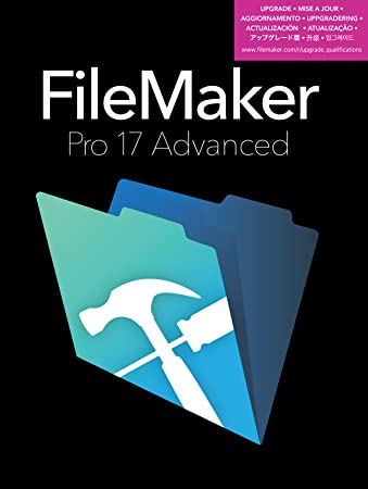 FileMaker Pro 17 Advanced Upgrade Download Mac/Win [Online Code]