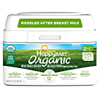 Happy Baby Organic Infant Formula Milk Based Powder with Iron Stage 2, 21 Ounce ...