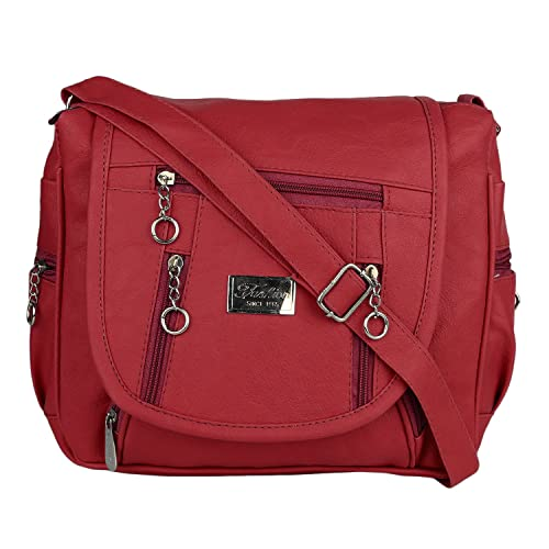 Ritupal collection Women s Handbag (Maroon)  Amazon.in  Shoes   Handbags dff0143aff3da
