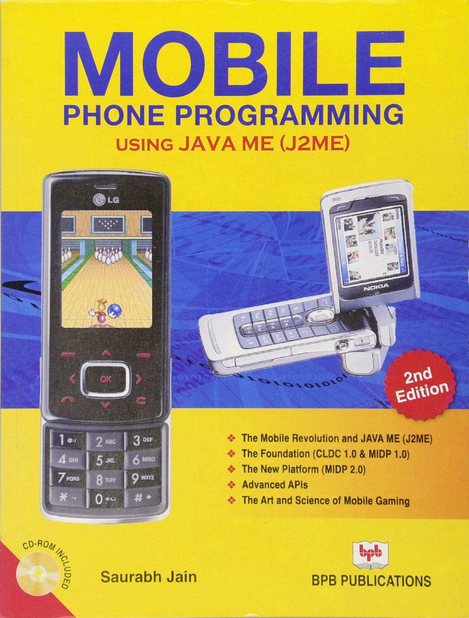 Buy Mobile Phone Programming Using Java ME (J2ME) Book Online at Low