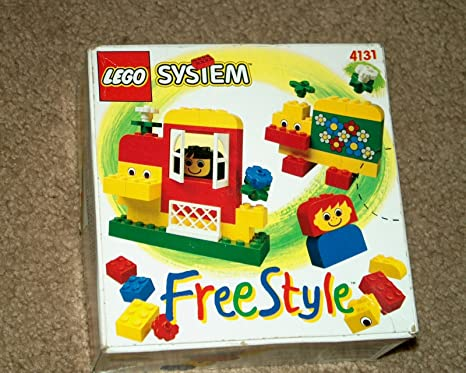 Amazon Lego System Freestyle 4131 In Original Box With
