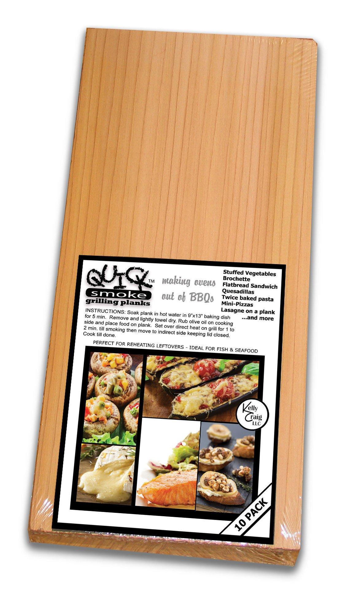 Kelly Craig QS-14-001 Quick Smoke BBQ Tools (10 Pack)