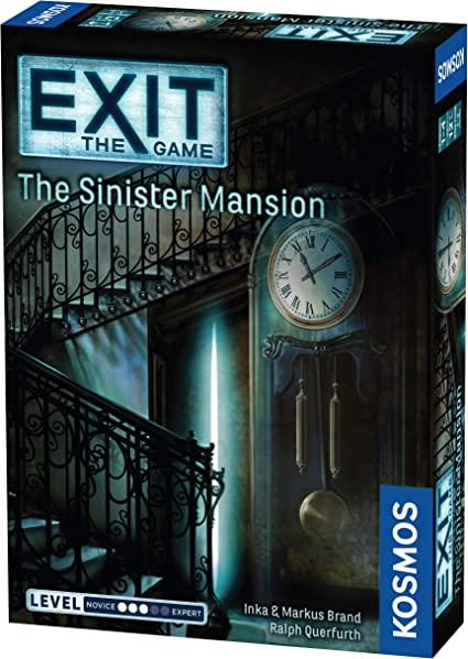The Sinister Mansion Exit The Game Escape Room Kosmos 694036