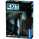Thames & Kosmos Exit: The Sinister Mansion | Exit: The Game - A Kosmos Game | Family-Friendly, Card-Based at-Home Escape…
