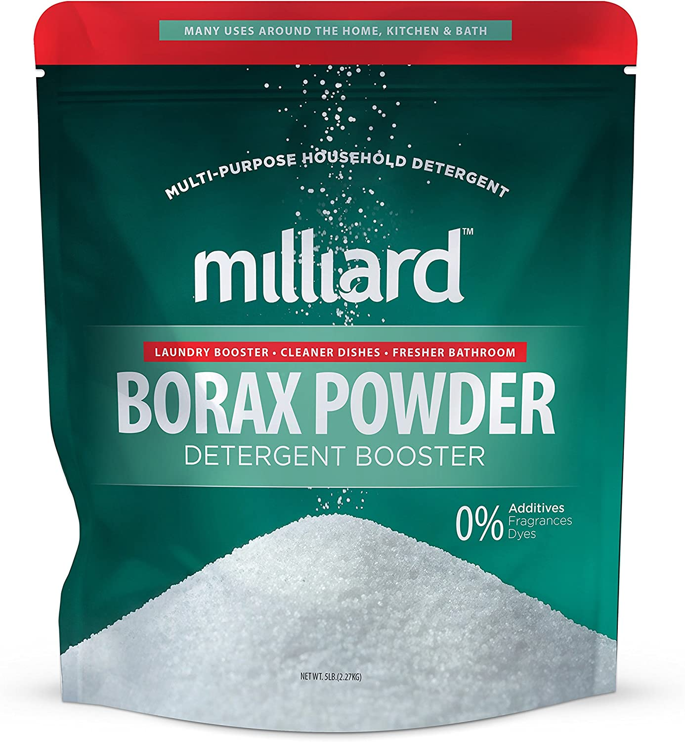 MILLIARD Borax Powder - Pure Multi-Purpose Cleaner (5 lb.)