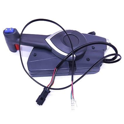 Amazon com: 5006180 Boat Motor Side Mount Remote Control Box for