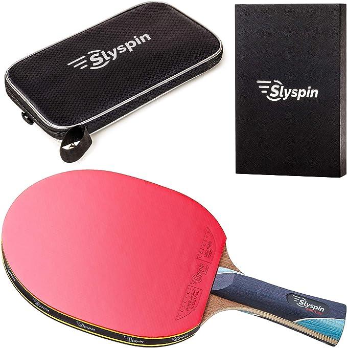 slyspin Rapture Raqueta de tenis de mesa ping pong paddle: Amazon ...