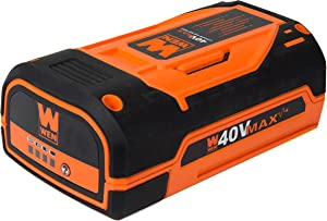 WEN 40404 40V Max Lithium-Ion 4Ah Rechargeable Battery