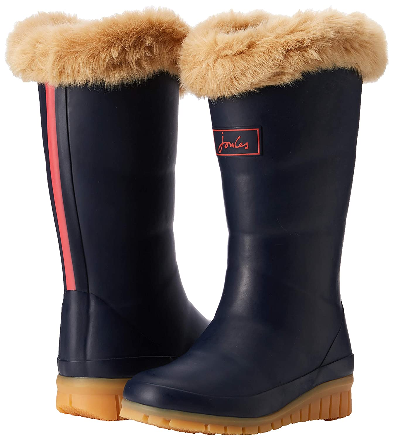 Joules Kids Womens Downtown Tall Padded Winter Welly Boot Toddler//Little Kid//Big Kid