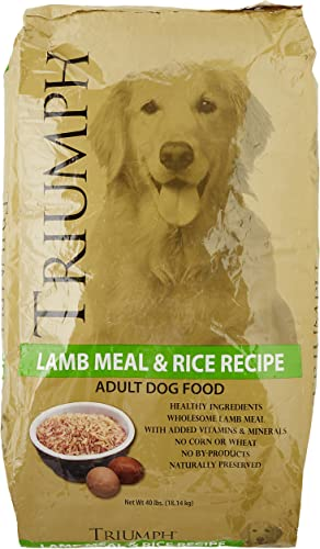 Triumph Lambmeal And Rice Dog Food, 40 Lb.