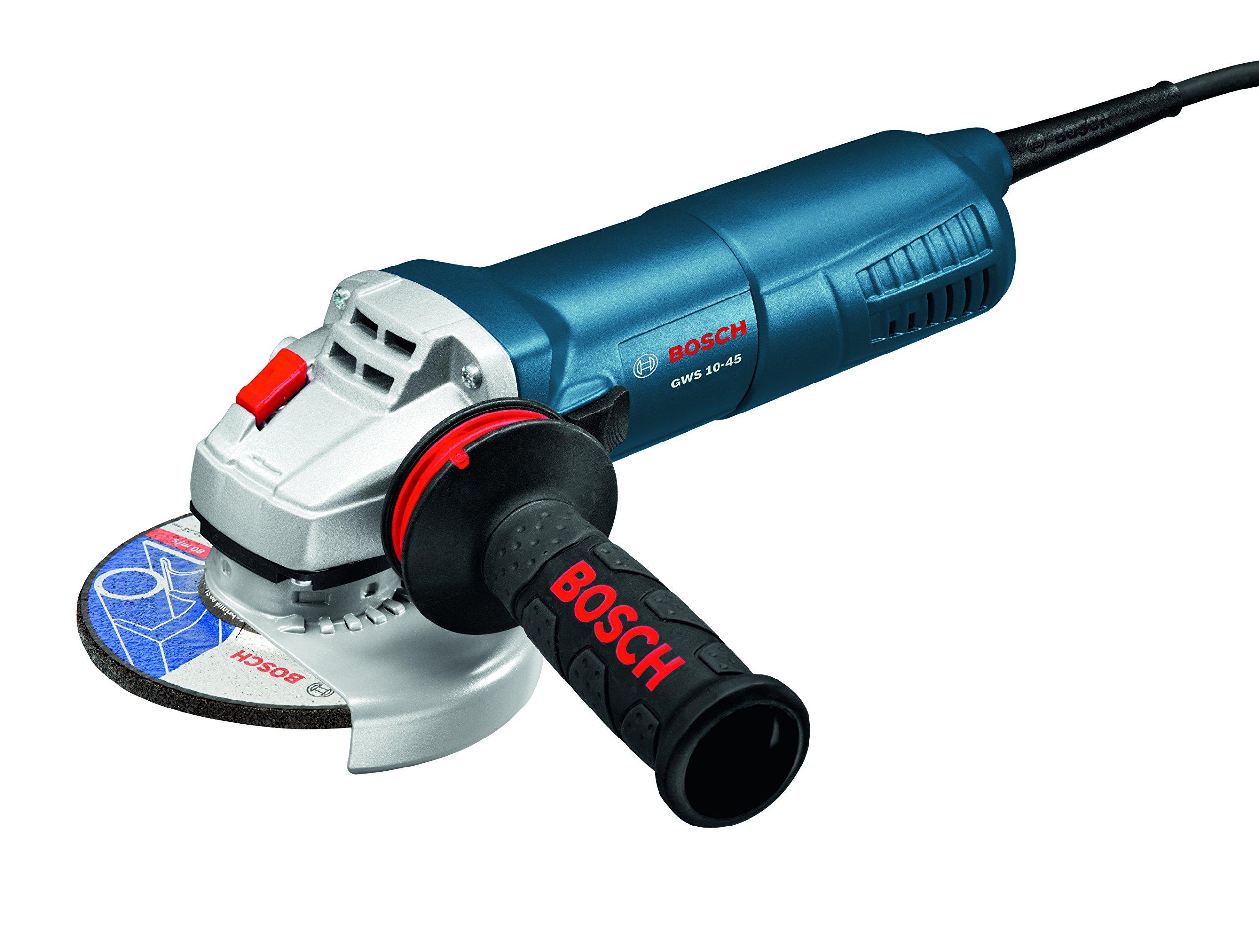 Bosch GWS10-45 Angle Grinder, 4-1/2''