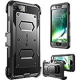 i-Blason Cover iPhone 7 Plus, Custodia Protettiva Rigida [Armobox] con Protezione Display e Antiurto Bumper per iPhone 7 Plus, iPhone 8 Plus (Nero)