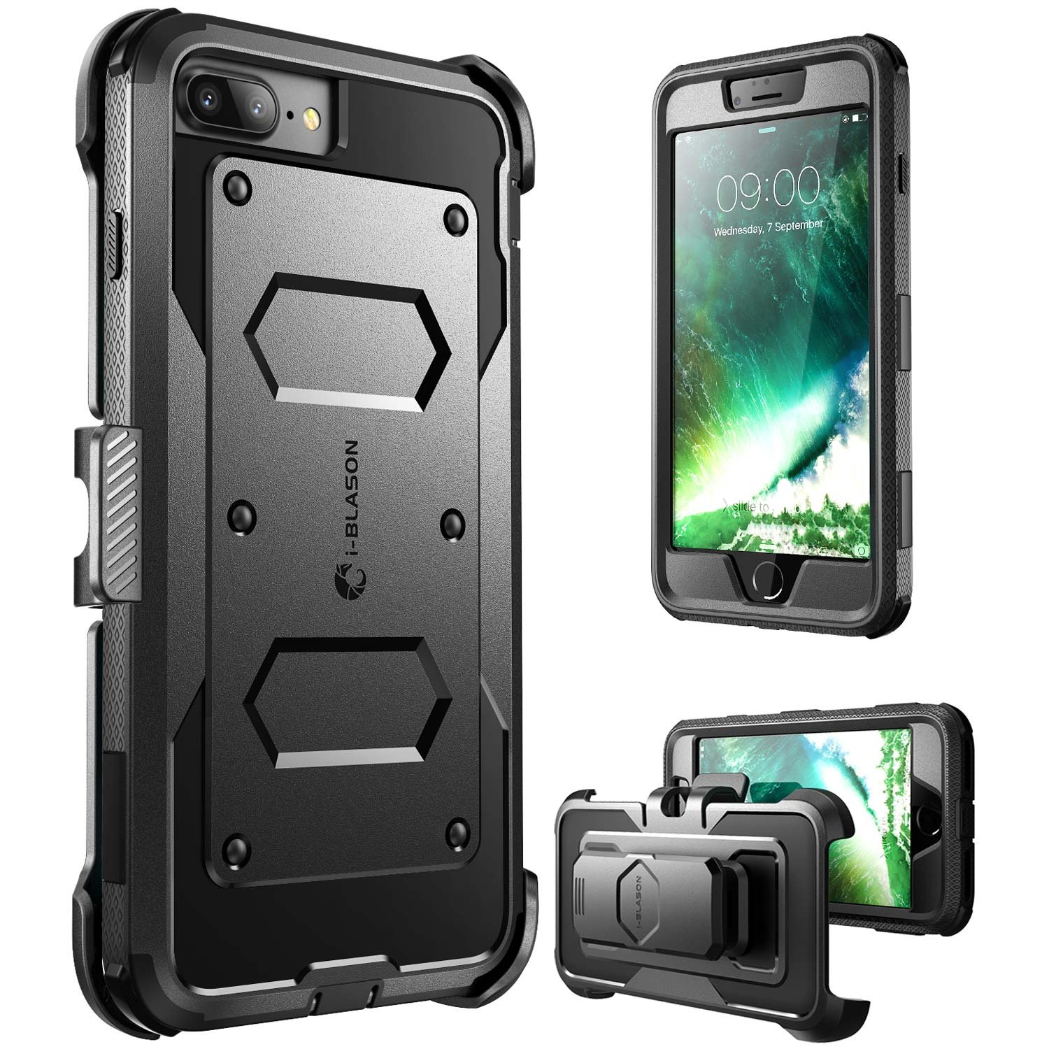iphone 7 plus cases with screen protector
