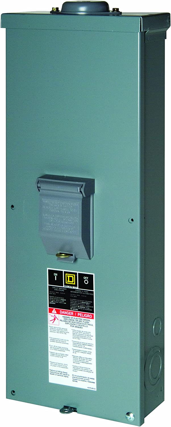 Square D by Schneider Electric QOM2E2200NRB QO 200 Amp Outdoor Circuit Breaker Enclosure