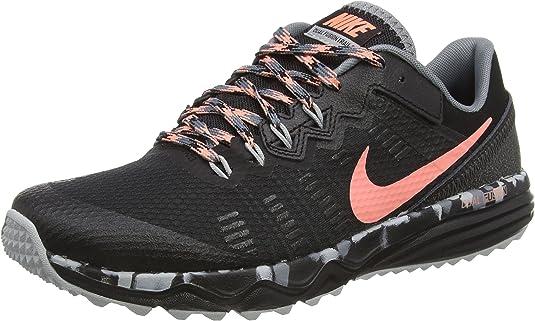 Nike Wmns Dual Fusion Trail 2, Zapatillas de Running para Mujer, Negro (Black/ATMC Pink-Cl Gry-WLF Gry), 40 1/2 EU: Amazon.es: Zapatos y complementos