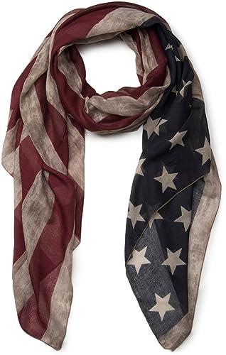 styleBREAKER chal diseño vintage bandera EE.UU., barras y estrellas, unisex 01016084