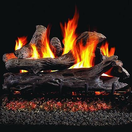 Amazoncom Peterson Real Fyre 18 Inch Coastal Driftwood Gas Logs